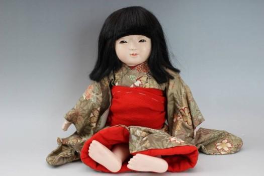 市松人形 明光作 女の子38cm