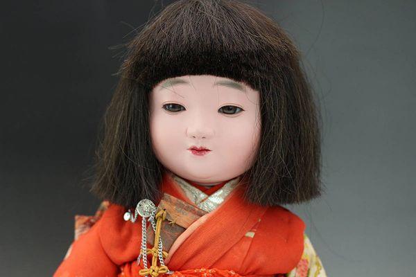 平田陽光作 市松人形