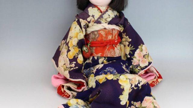 滝沢光龍斎の市松人形