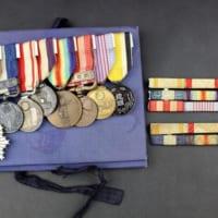 旧日本軍の勲章8点と略綬