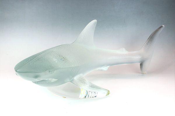 ラリック・オーナメント 鮫