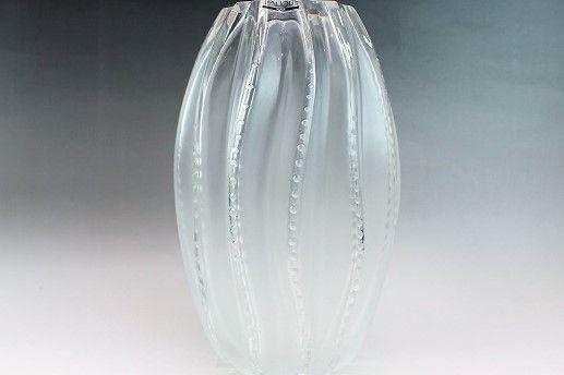 ラリック 花瓶 メデューサ
