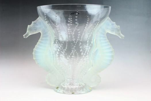 ラリック花瓶 ポセイドン