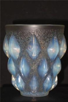 ルネ・ラリック オパルセント花瓶『ランピオン』