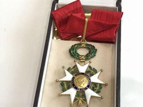フランス・勲三等レジオン・ドヌール勲章