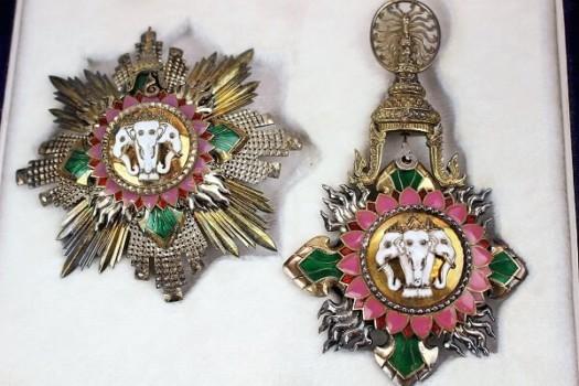タイ王国 白象一等勲章