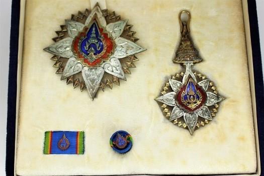 タイ王国 勲一等王冠勲章