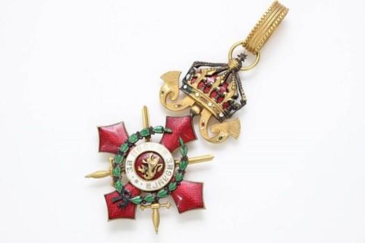 ブルガリア王国 戦功勲章4級王冠付