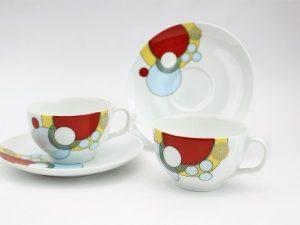 ノリタケ・フランクロイドライトデザインC&S
