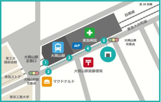 買取福助 大岡山店の地図
