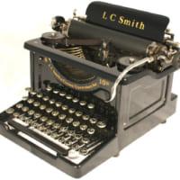 L.C.Smithのタイプライター