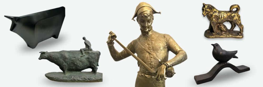 彫刻・ブロンズ像
