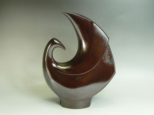 中島保美作 銅製鳥オブジェ