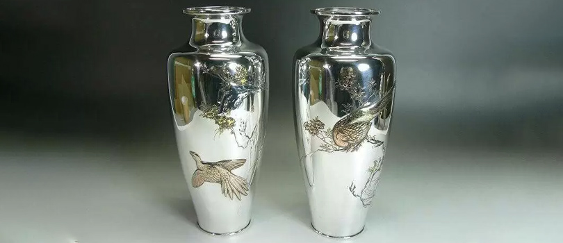 銀製花瓶 買取