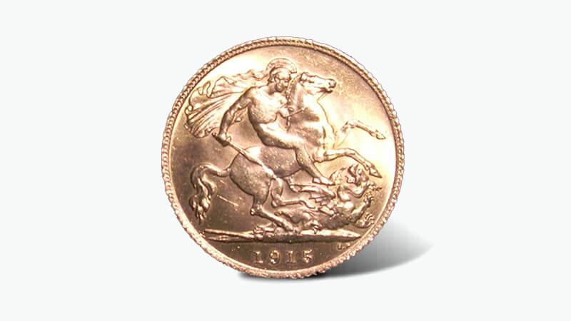 ソブリン金貨(5ポンド)