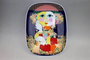 ローゼンタール飾り皿 スタジオライン ビョルン・ヴィンブラッド