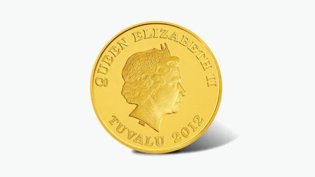 ツバル・ホース金貨