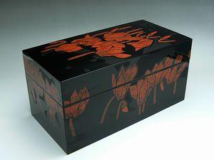 輪島塗 蒔絵小箱