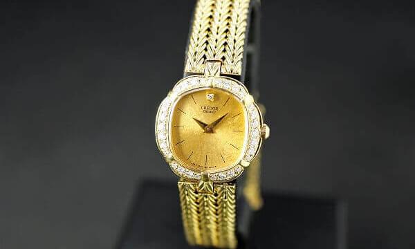 セイコークレドール18金腕時計