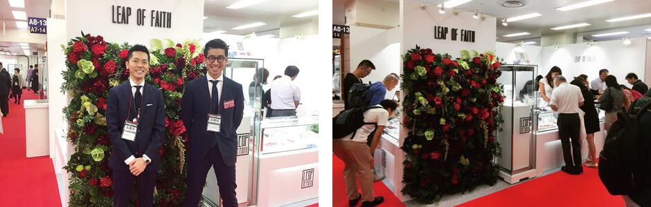 日本最大の宝石展示会